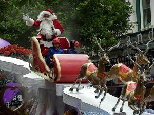 En daar is ie dan: de Kerstman